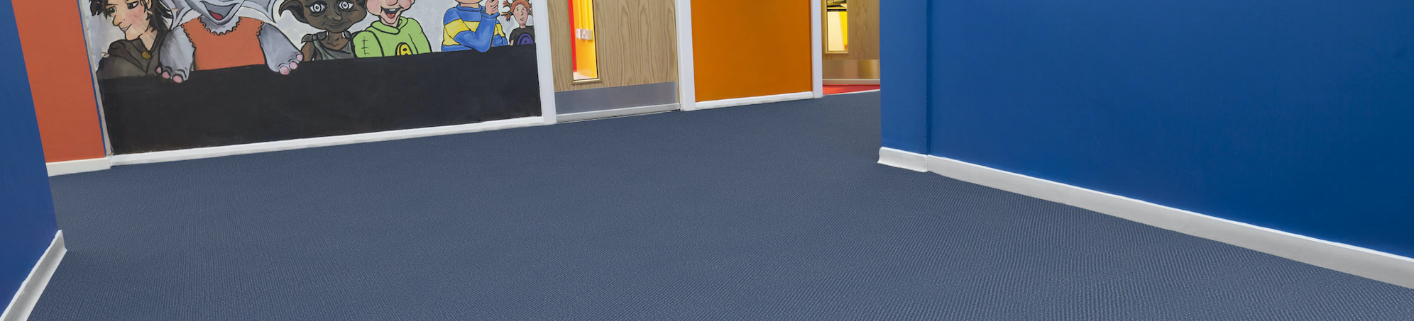 Heckmondwike | Montage Relaunch | Midnight Blue | Commercial Carpet | Banner Image