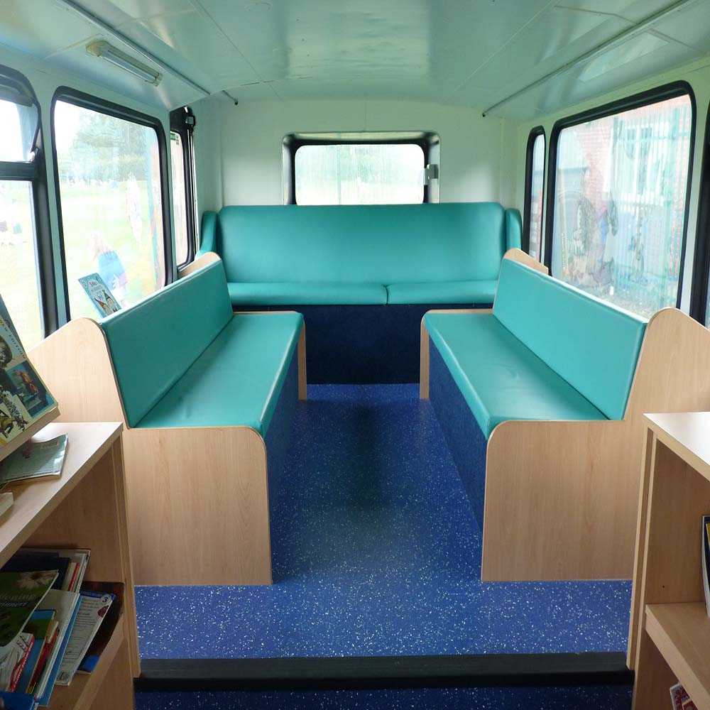 Library School Bus, St Andrew's School