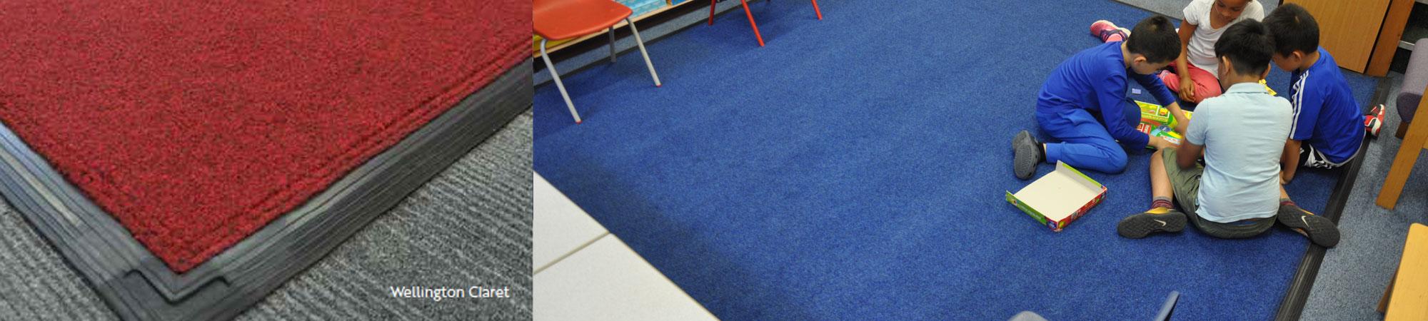 loose lay classroom mats