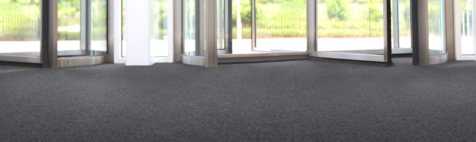 Heckmondwike FB | Commercial Carpet | Battleship/Hippo Entrance