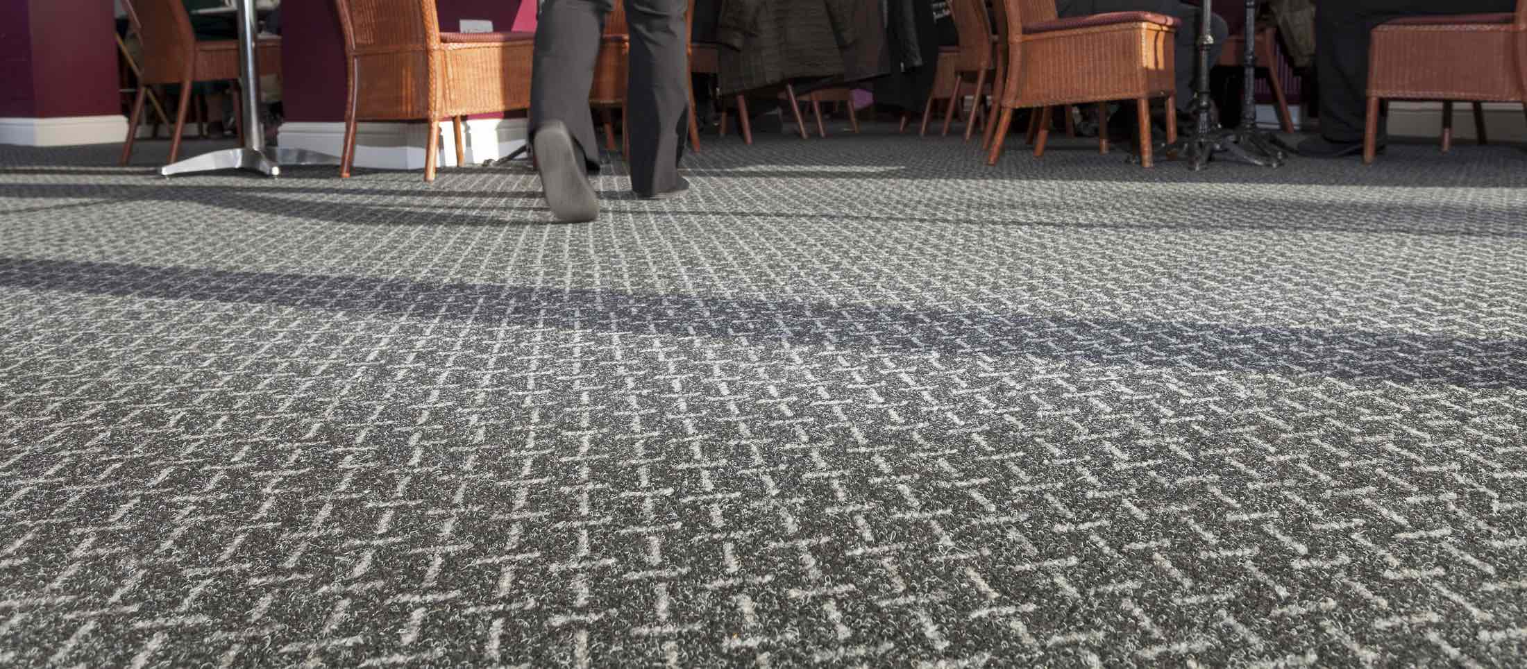 Hardwearing heavy contract carpets