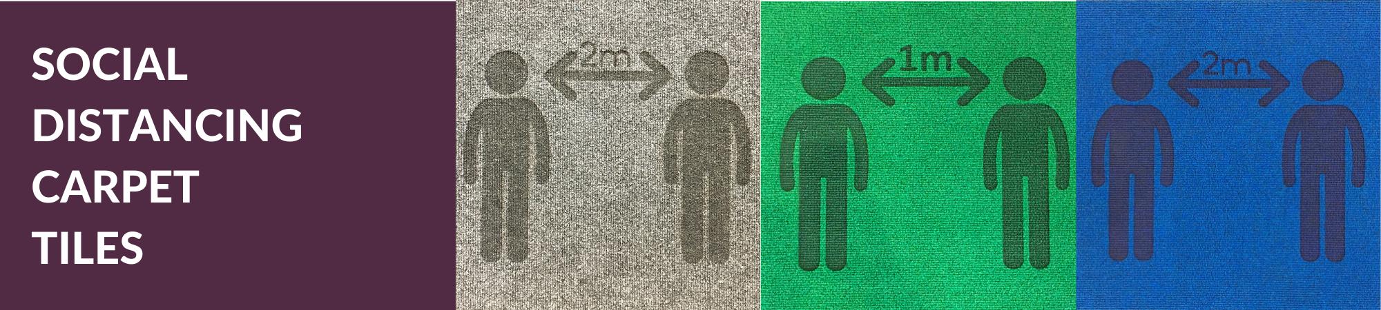 Heckmondwike | Social Distancing Range | Supacord Tile | Banner