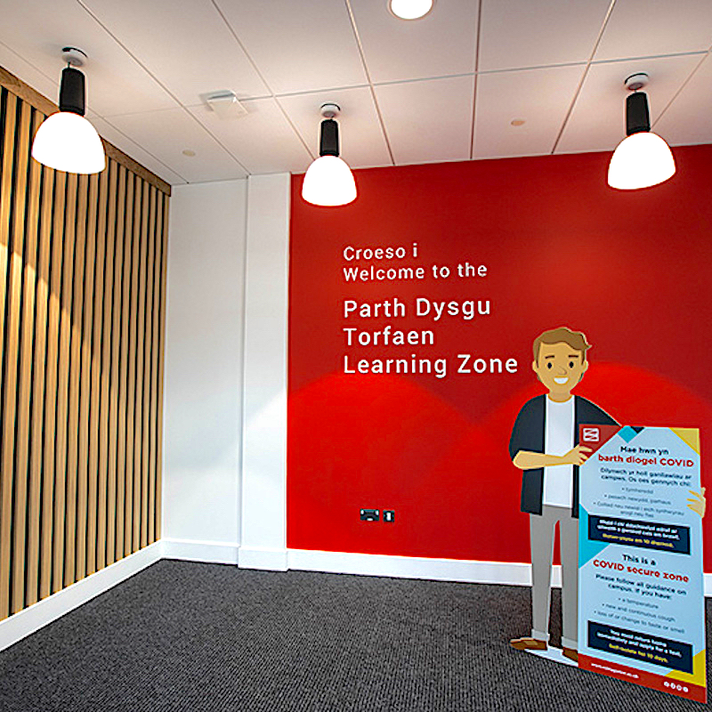 Torfaen Learning Zone, Cwmbran