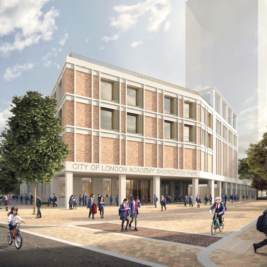 City of London Academy, Shoreditch Park